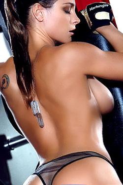 Michelle Manhart For Playboy