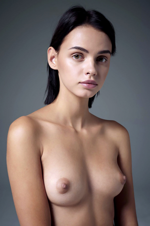 Nude Model Ariel In Studio Portraits By Hegre