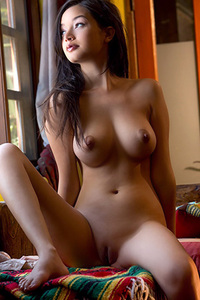 Eden Arya Casually Nude At Home
